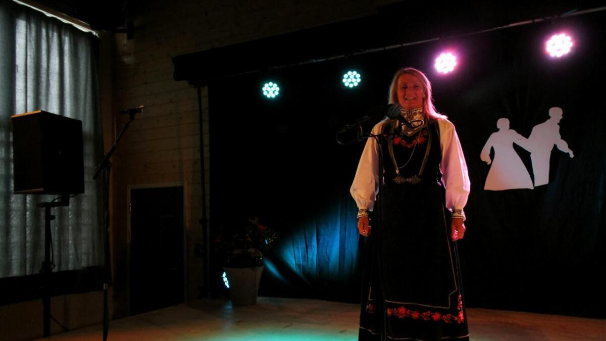 Inger Lien frå Møsstrond fekk andreplass i vokal klasse B.
