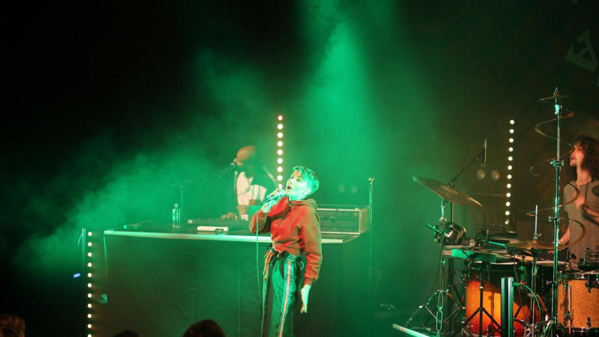Det norsk-samiske bandet ISÁK fikk æren av å avrunde årets jazzfestival