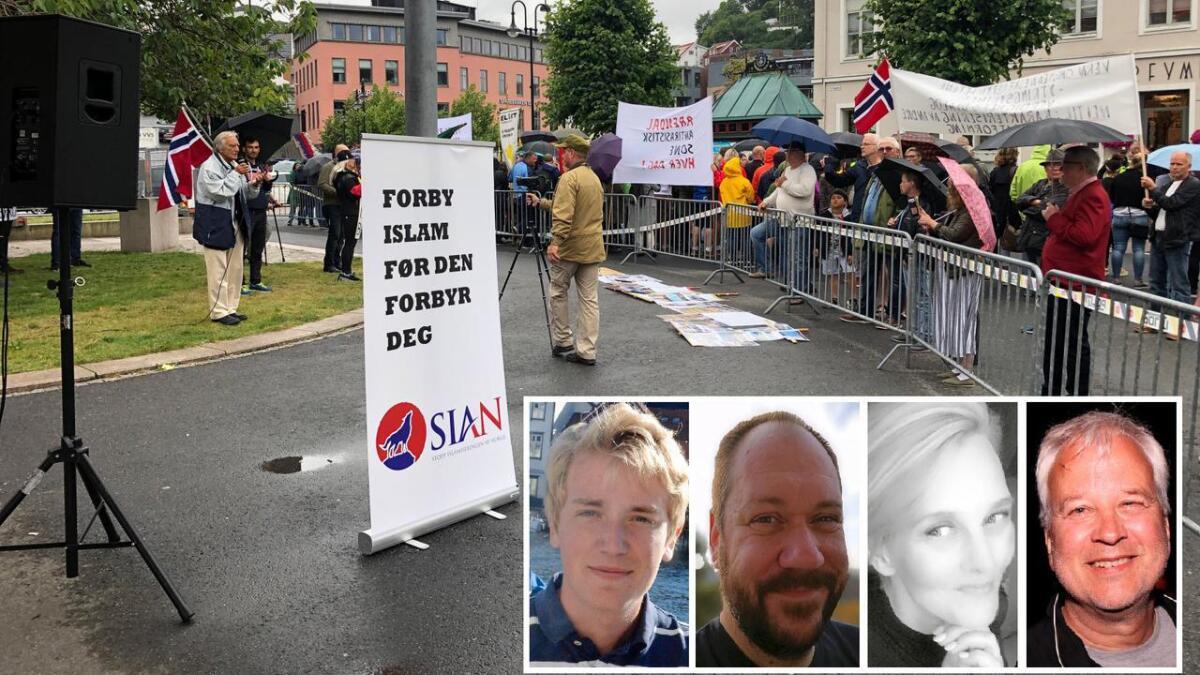 Det koker i spaltene til Agderposten etter SIAN-demonstrasjonen i Arendal denne helgen.