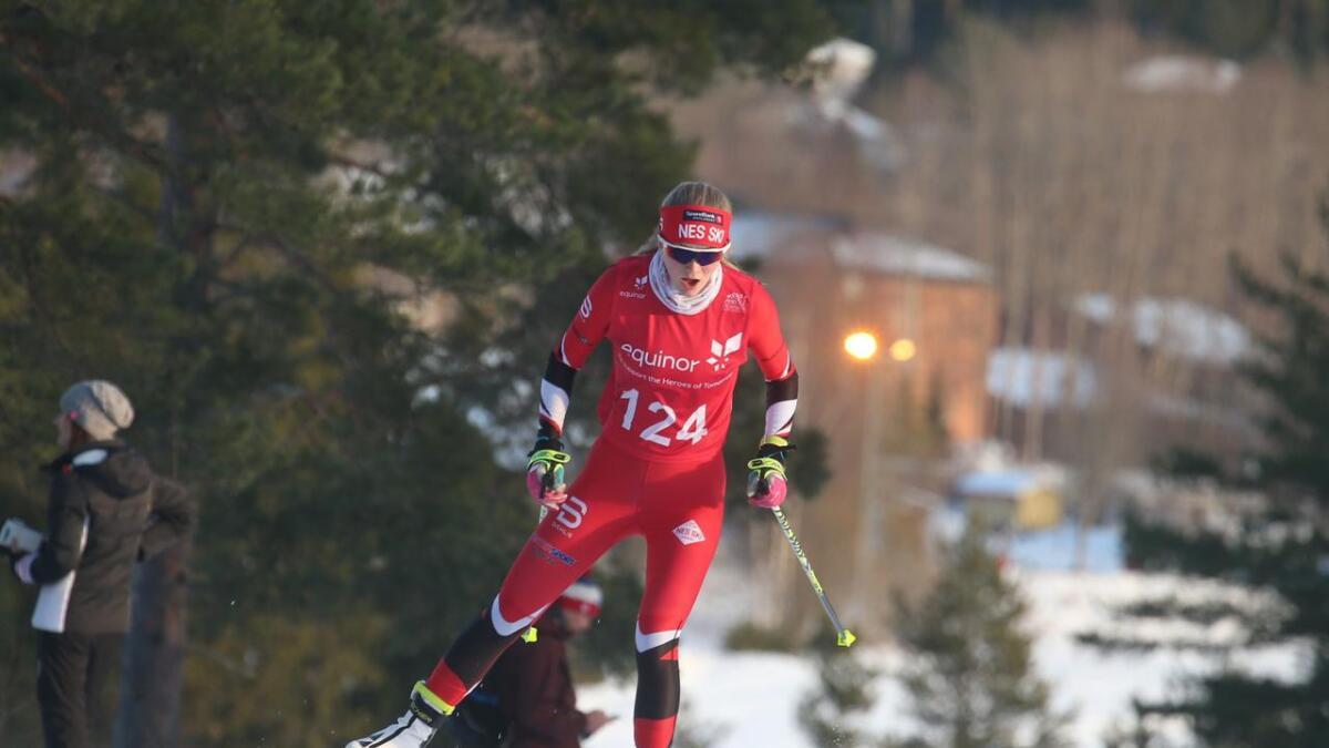 Sunniva Reite Martinsen ble nummer 15 på lørdagens fristilrenn i norgescupen.