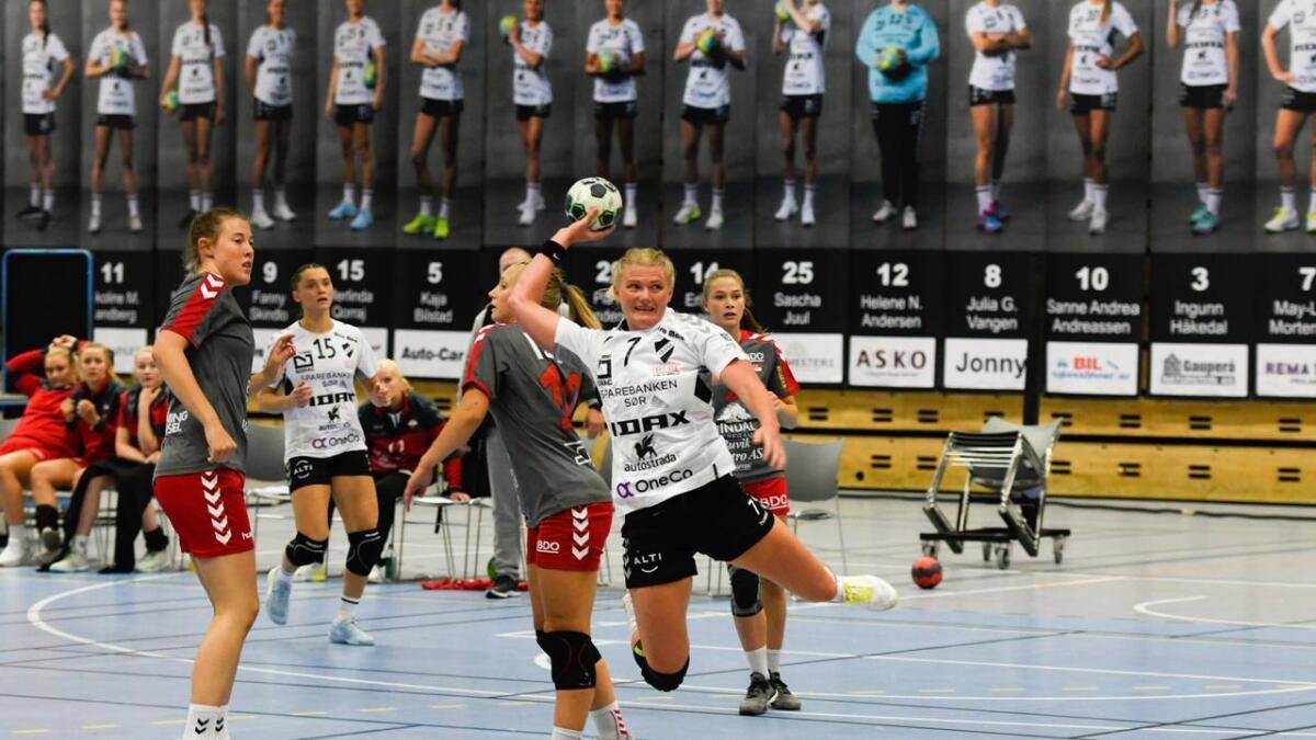 May-Linn Mortensen ble kåret til Granes beste spiller i kampen.