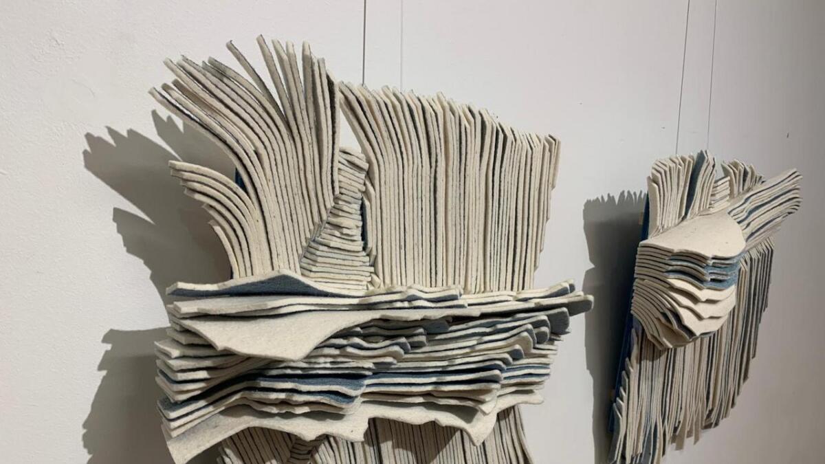 Tekstil er Marianne Moe materiale.