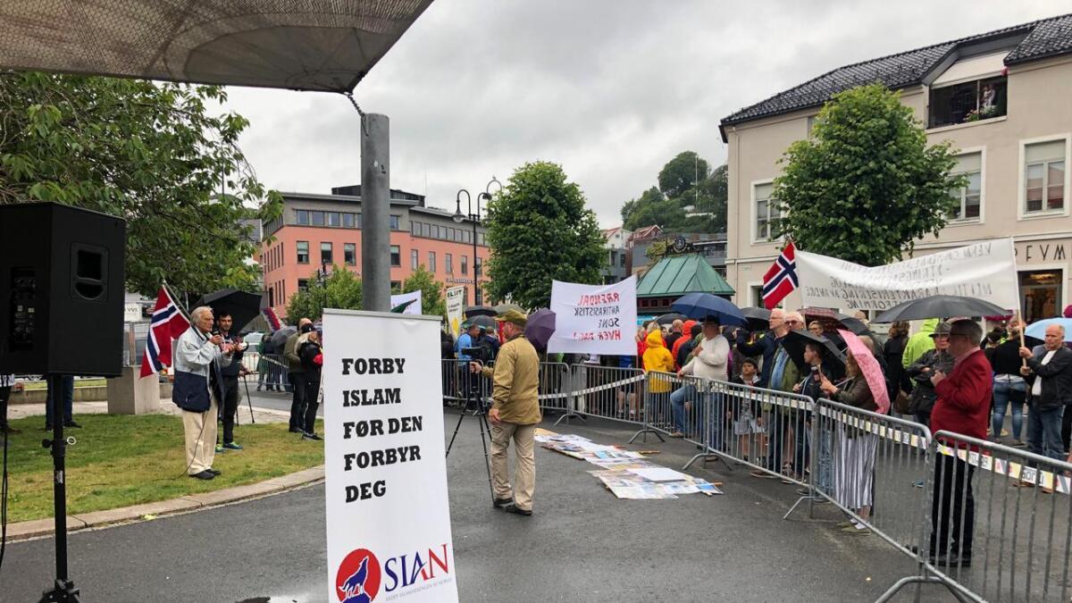 SIANs arrangement i Arendal i helgen har skapt debatt.
