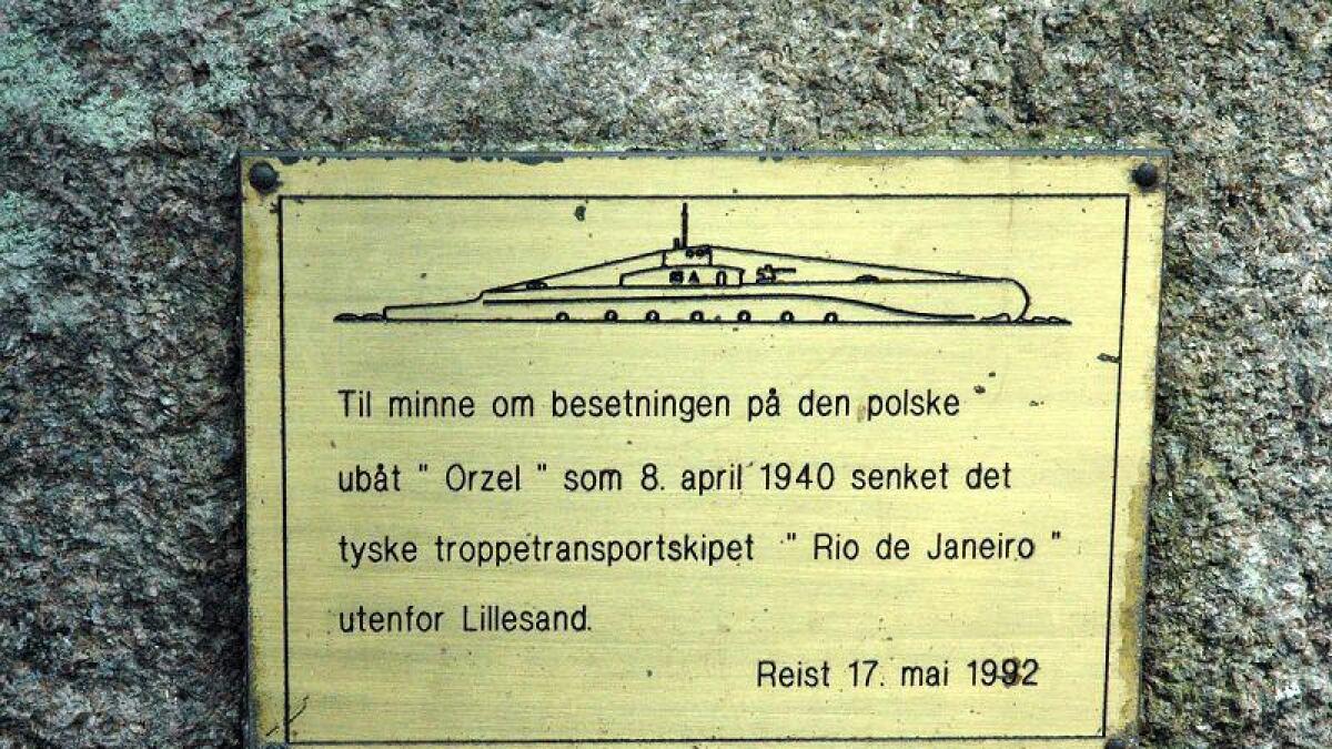 """Det var polske Orzel som senket """"Rio de Janeiro"""". Den polske ubåten var under engelsk kommando."""