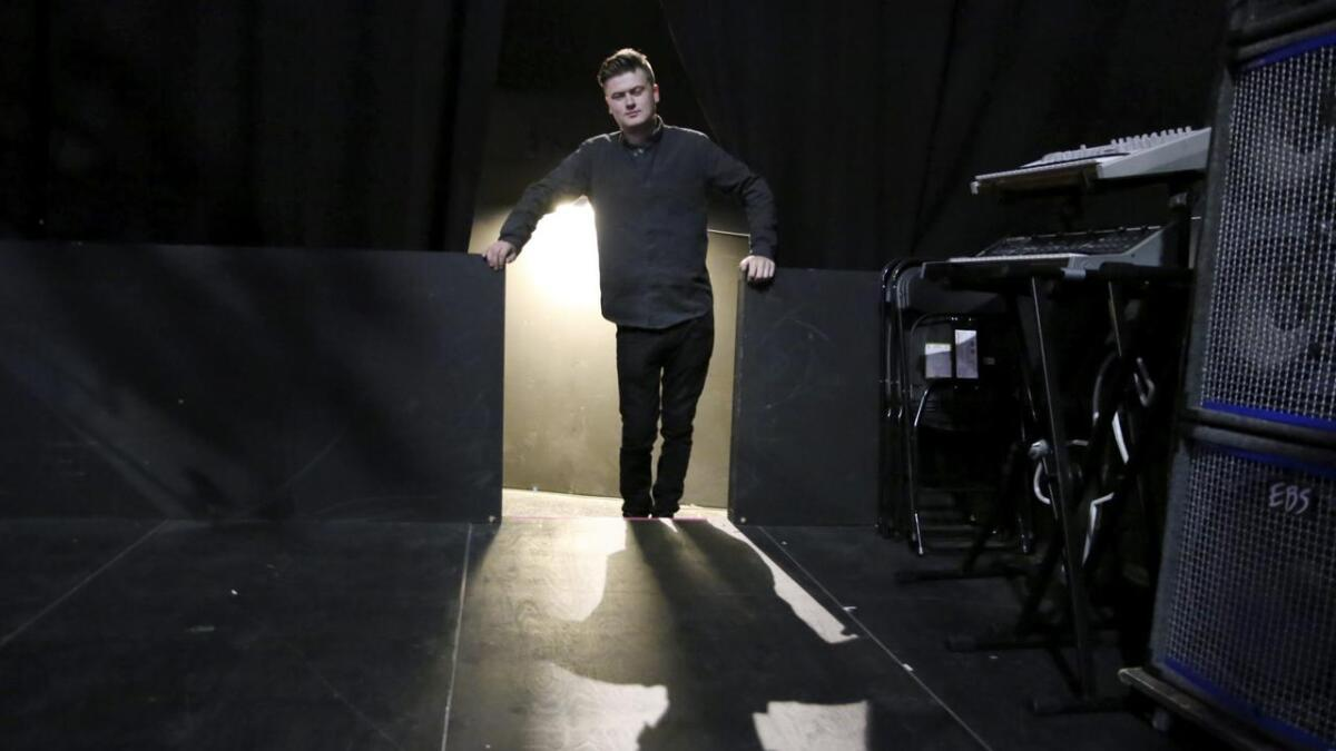 Edward Mustad har med eget band, når han senere i oktober holder konsert på Ibsenhuset. Begge arkiv