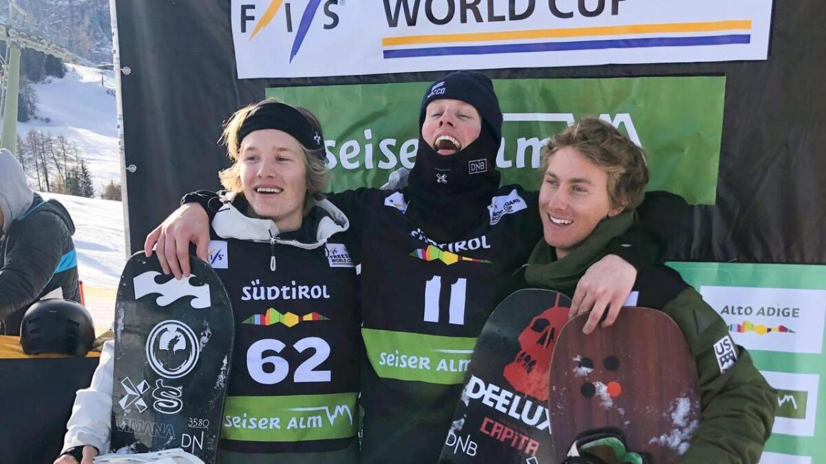 Stian Kleivdal var på pallen i verdscupen sist vinter.