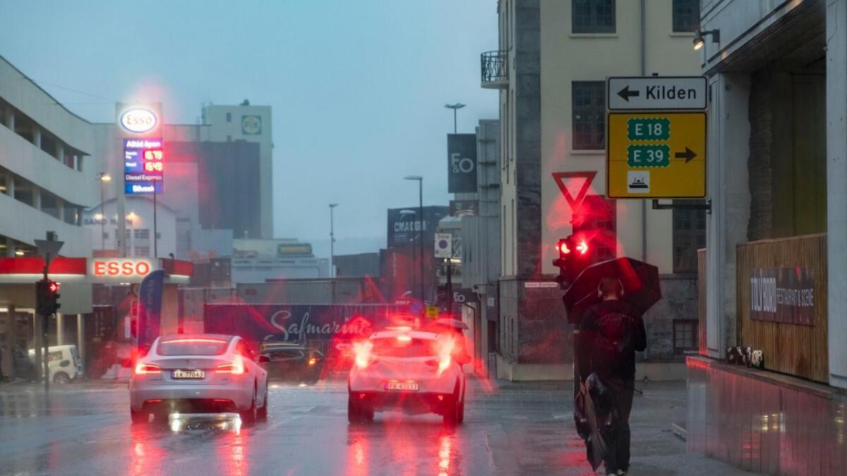 "Det er ventet nokså mye regn på Sørlandet den kommende uken. Ingen ""Indian summer"" i vente med det første."