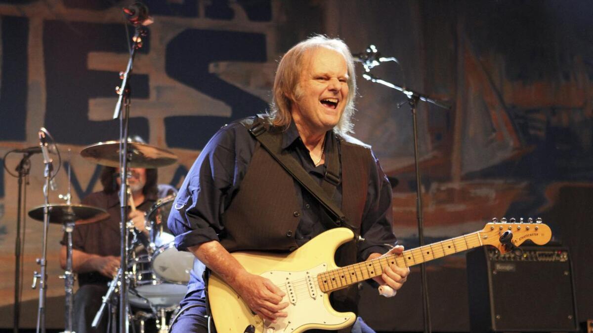 Walter Trout var i gnistrende spillehumør da han entret hovedscenen. Det bel et gitarshow med mye følelser.