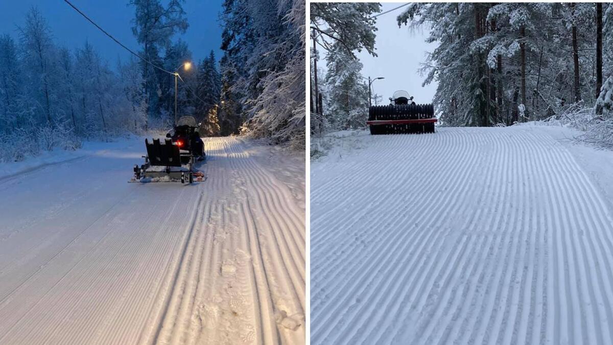 Bjørn kjørte 35 kilometer med snøscooter på fire...