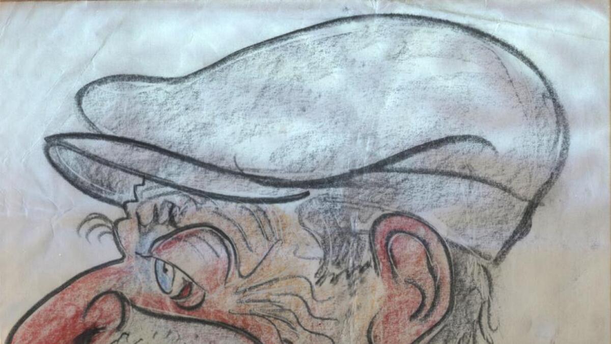 John Dillinger karikatur