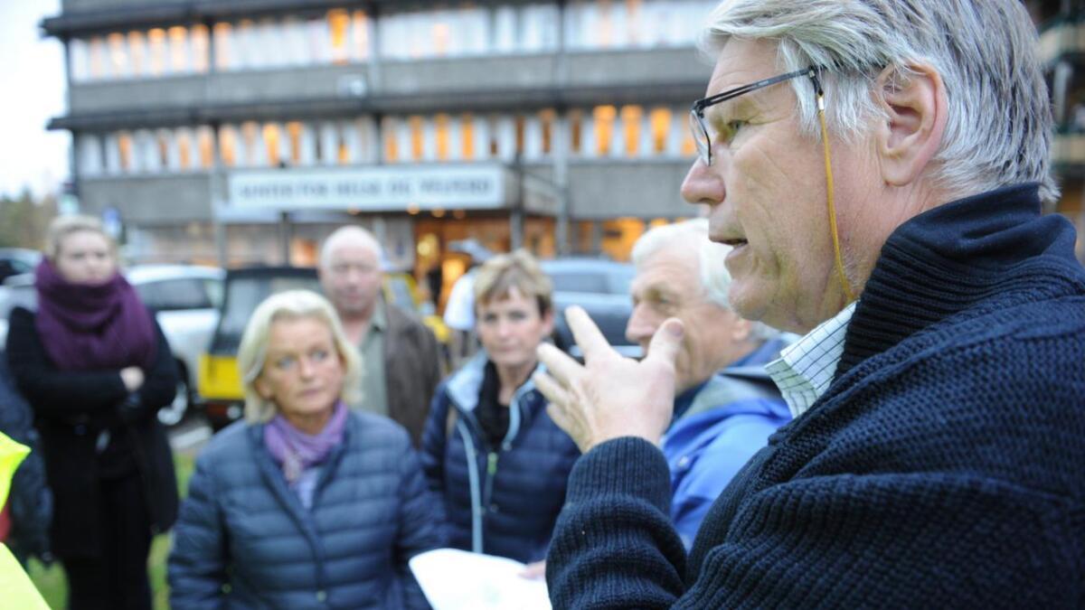Investor Finn Bjørn Rørvik mener forutsetningene er endret etter at han fikk godkjent reguleringsplanen for nytt helsesenter, og vil ha inn leiligheter i prosjektet. arkivfoto