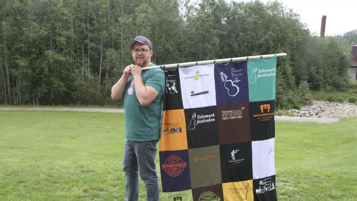 Kristoffer Mosfjeld er sjef for Telemarkfestivalen i Bø.