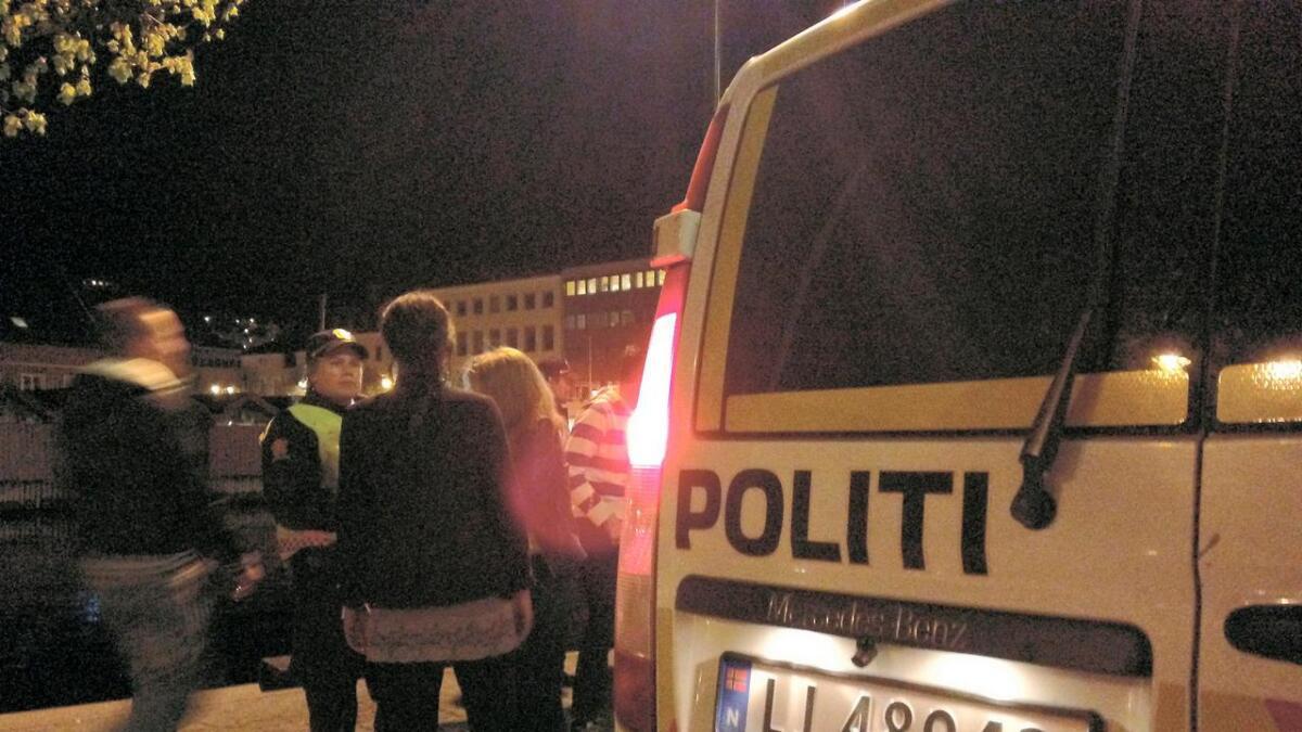 Politiet i Setesdal måtte rykke ut til en slåsskamp på Hovden lørdag kveld.