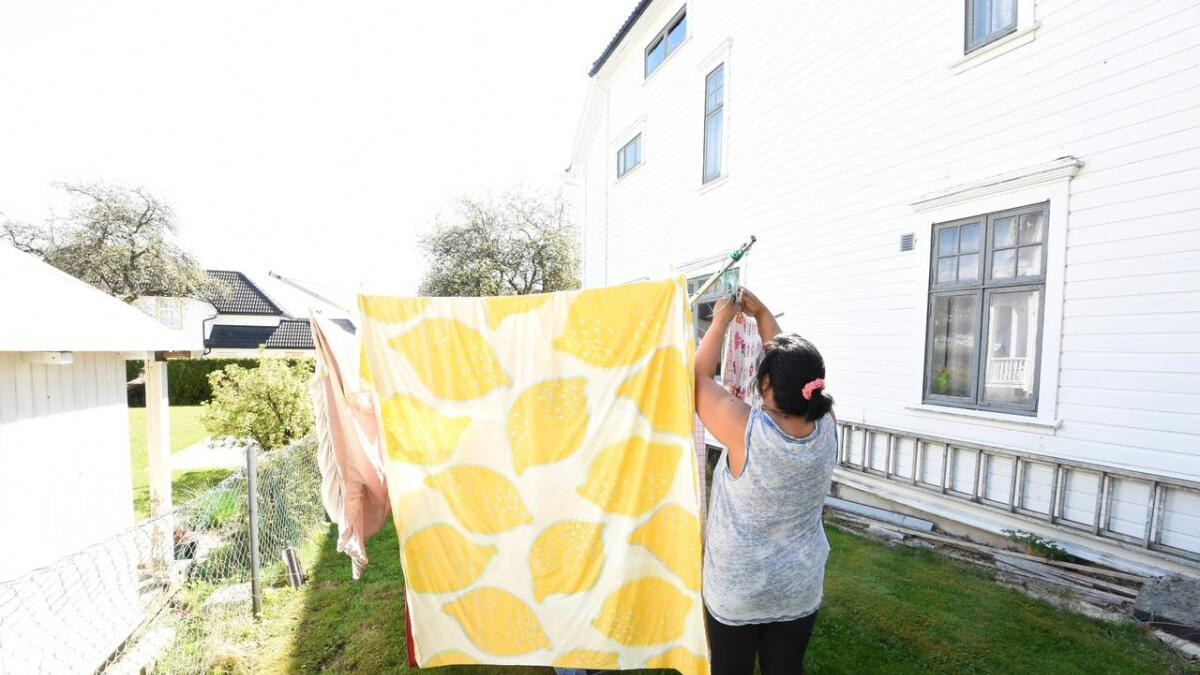 Tørker du klesvasken ute på søndager?