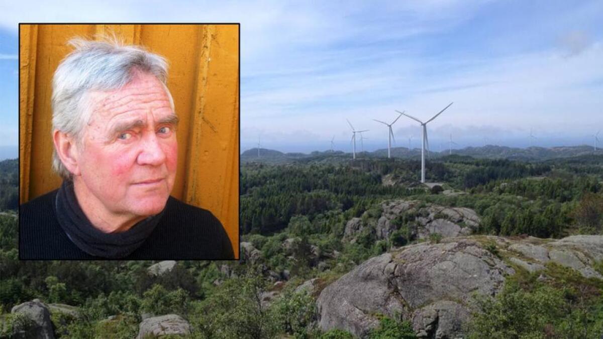 Fylkesleder i Naturvernforbundet i Agder, Peder Johan Pedersen, skriver om Nordbø. ARKIV