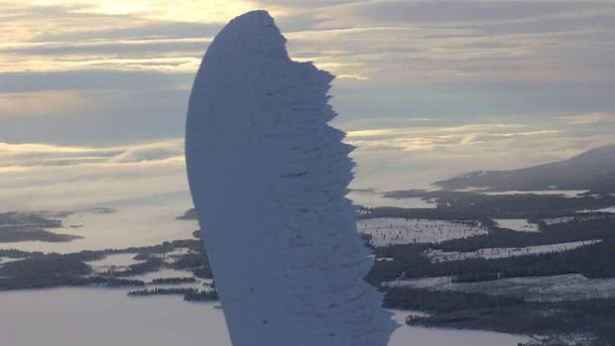 Hastigheten på tuppen av et vindturbinblad kan bli over 300 km/t.