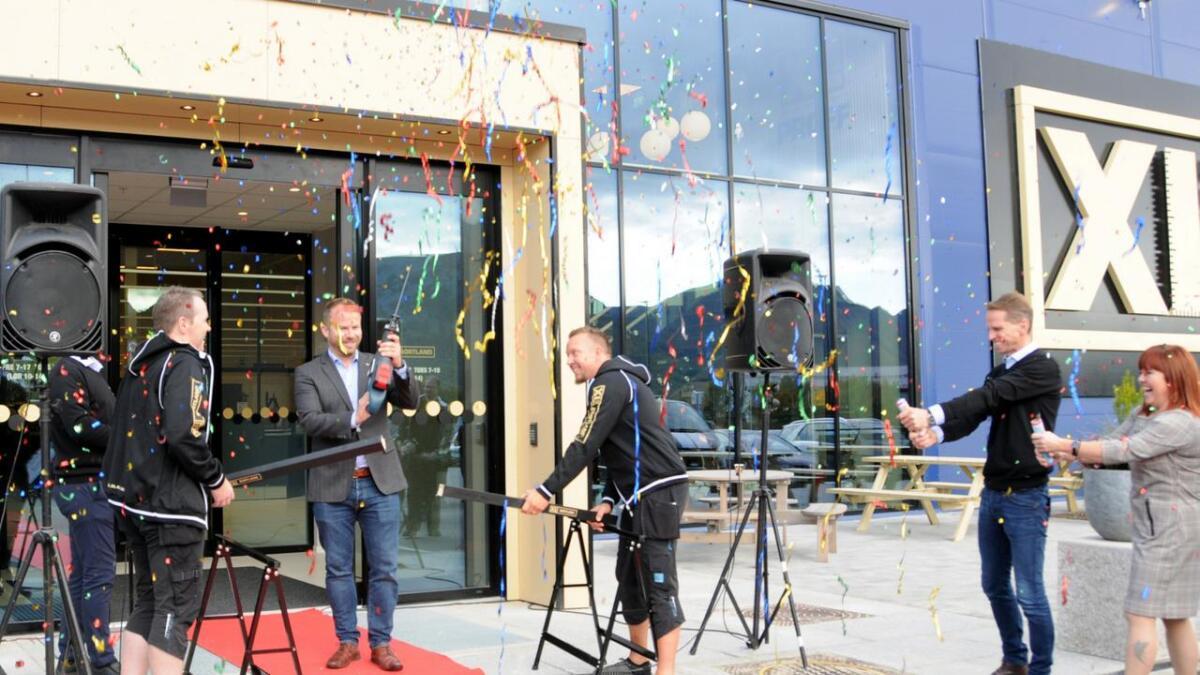 Xl-Bygg Sortland med ny butikk