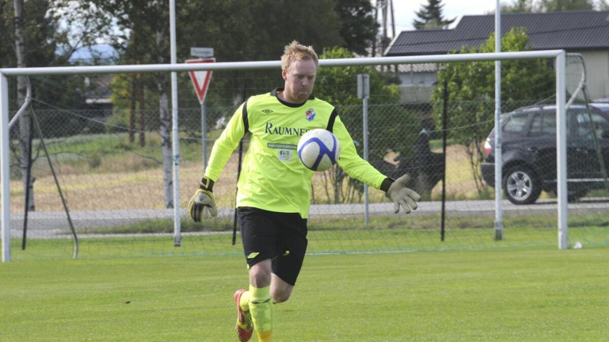 Keeper André Thomsen var beste spiller da FUVO ble slått 4–1 på bortebane av Fjellhamar mandag kveld. Arkiv