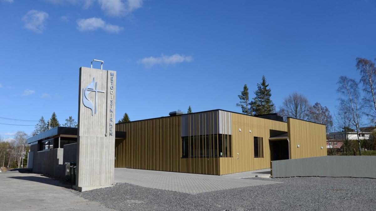To av fire menigheter trakk seg fra samarbeidsgudstjenesten her i Metodistkirken i Arendal.