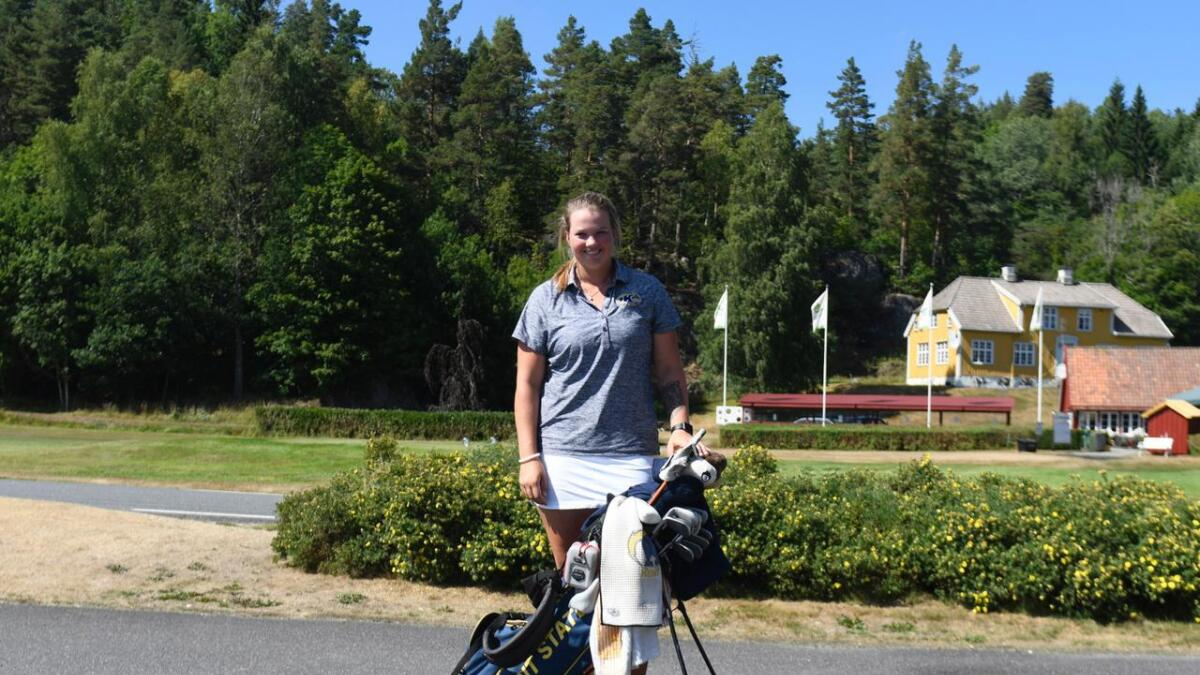 Karoline Stormo debuterte før helgen i hennes første major-turnering.