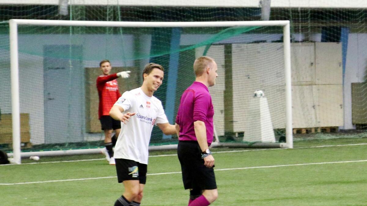 Marius Jørgensen spilte for Sortland IL inntil nylig.