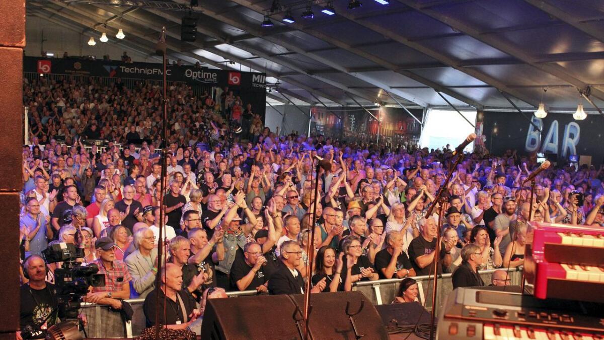 Opp mot 4.000 publikummere skapte god stemning.