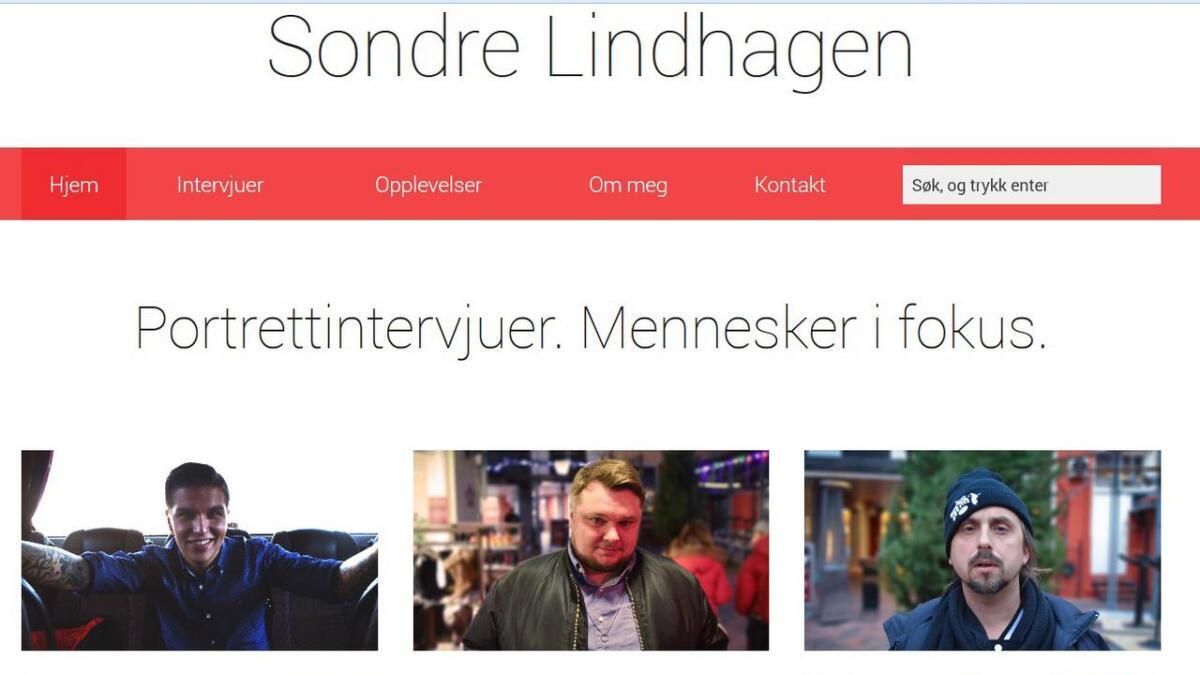 Alle intervjuene kan du lese på hjemmesiden lindhagen.no.