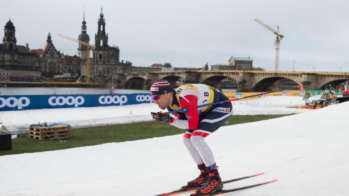 Pål Golberg avslutta skiseosngen med å bli numemr seks på NM-femmila.