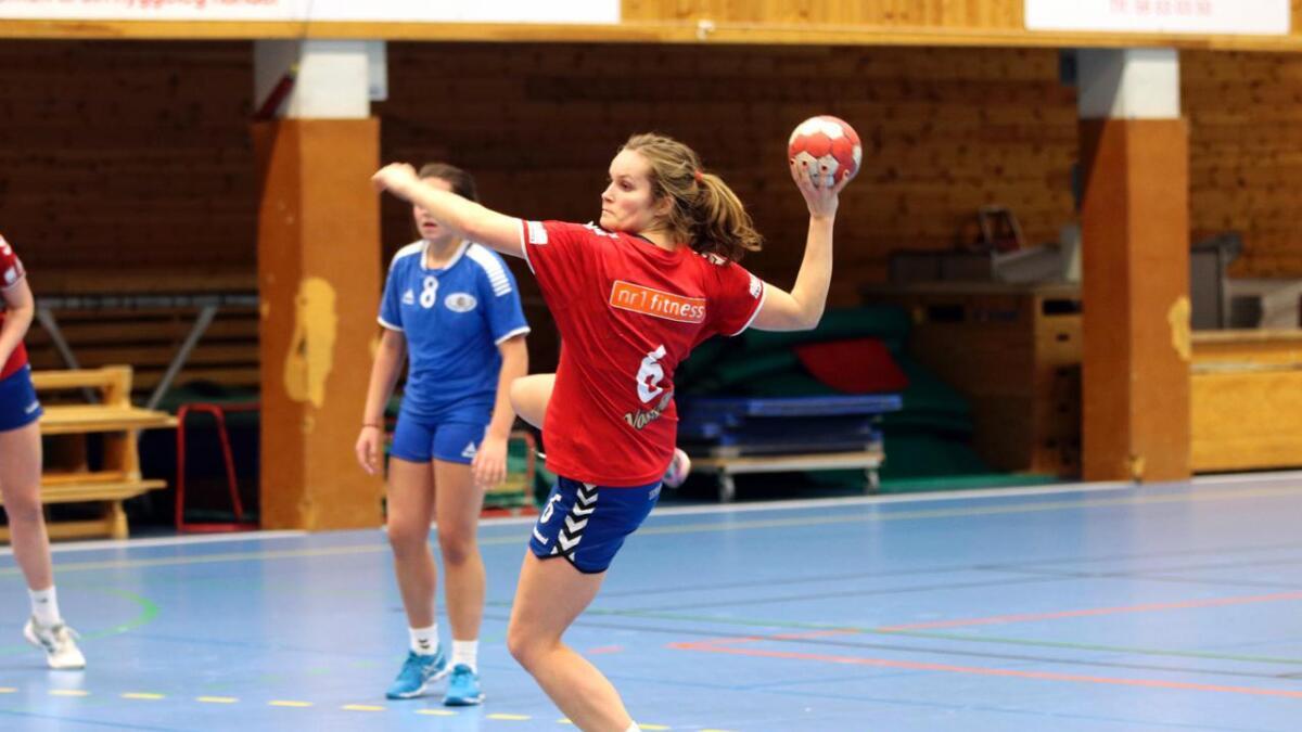Ingeborg Almeland Tveit vart toppskårar med ni mål.