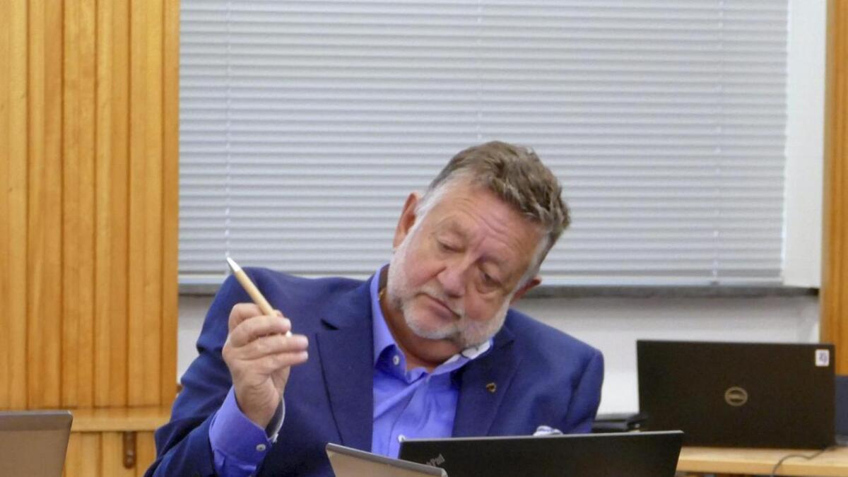 Vaksdal-rådmann Atle Fasteland.