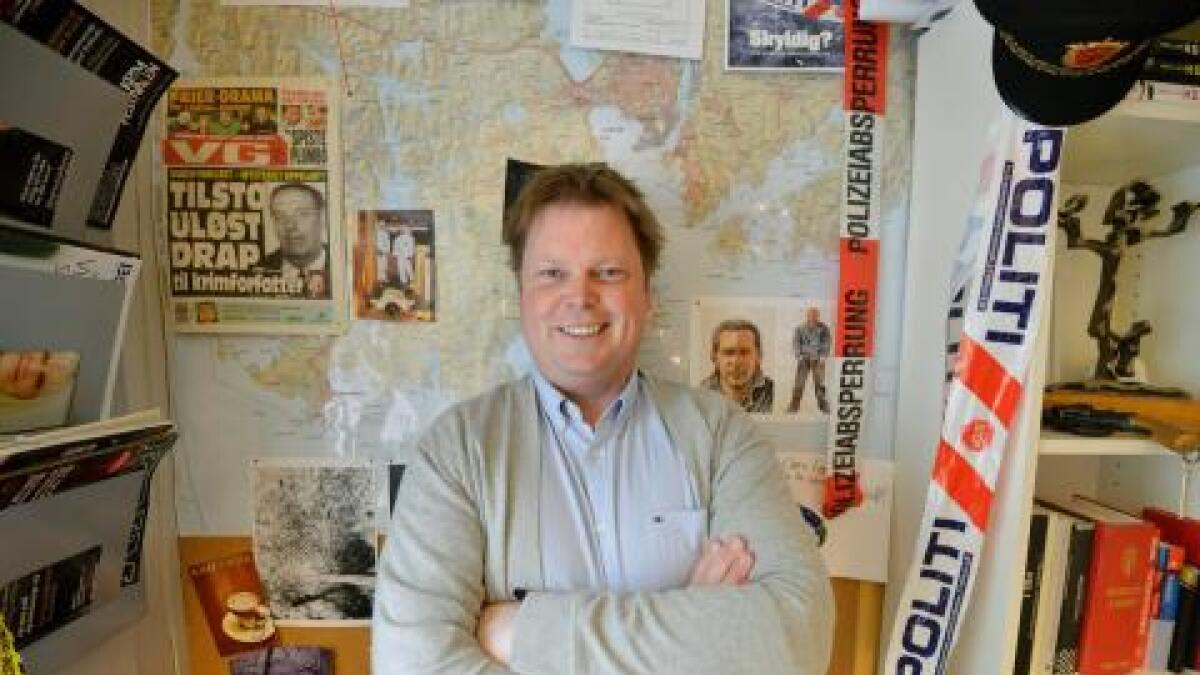 Kriminalromanforfatter Jørn Lier Horst fra Bamble