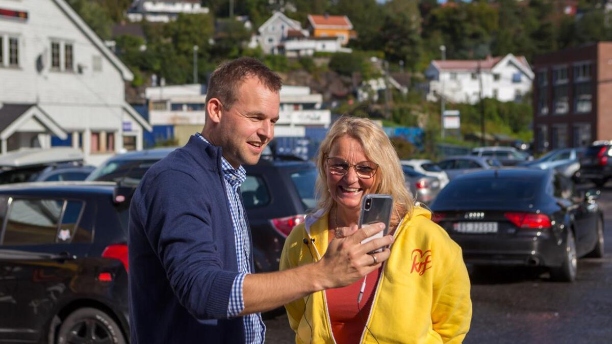 Ingunn Roppestad er fjerdekandidat til rylkestinget for Krf Agder og benyttet sjansen til å spille inn en kjapp valgkampvideo.