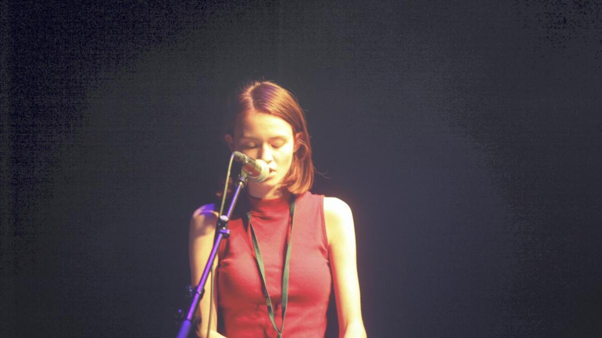 Frida Solheim framførte også sin eigen komponerte song Ghost of You.