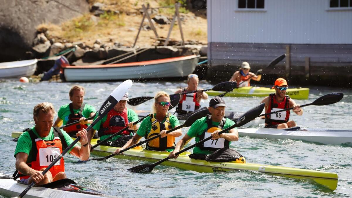 For mange er Vannvittig i Kilsund en tradisjon. Arrangørene håper å komme opp mot 100 påmeldte når starten går klokken 12 i dag.
