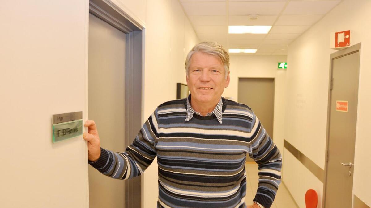 Finn Bjørn Rørvik er glad for grønt lys for byggeplanene.