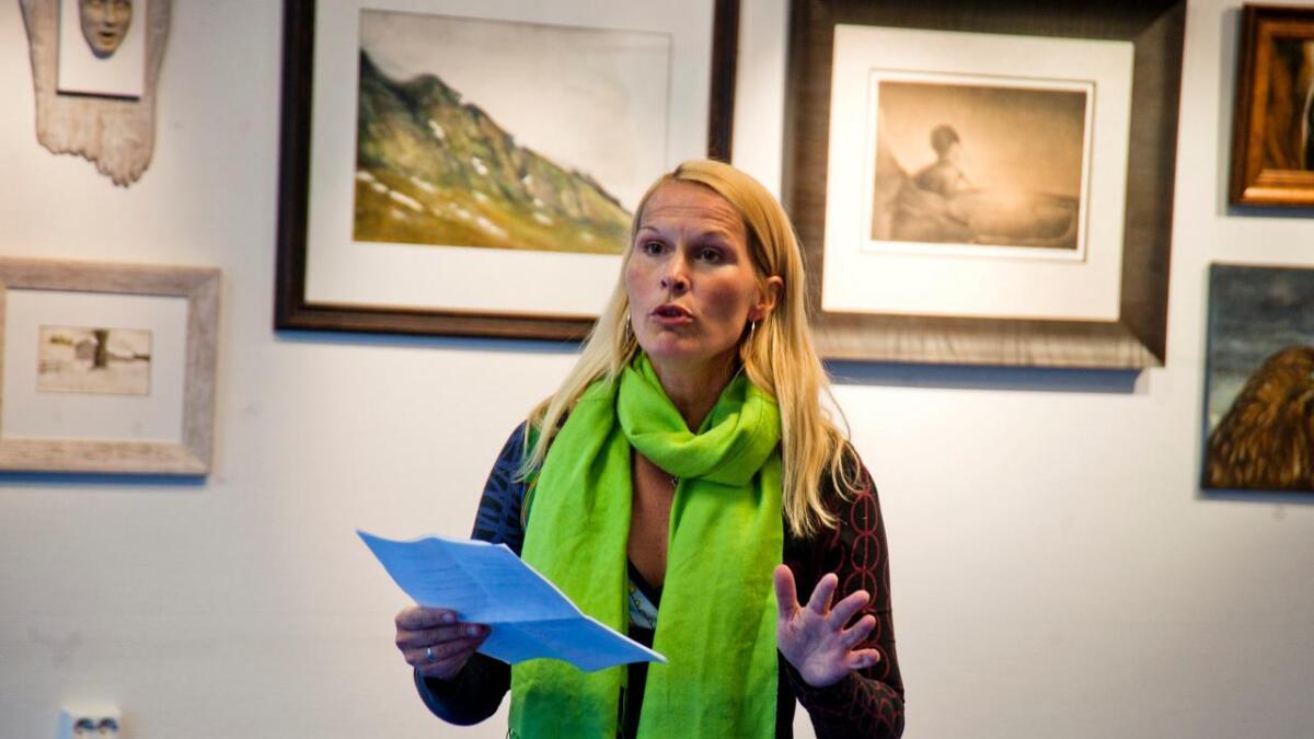 """Vibeke Lillefjære åpning av kunstutstilling """"uten tittel"""" i skien sentrum   Hedda Foss Five - åpningstale"""