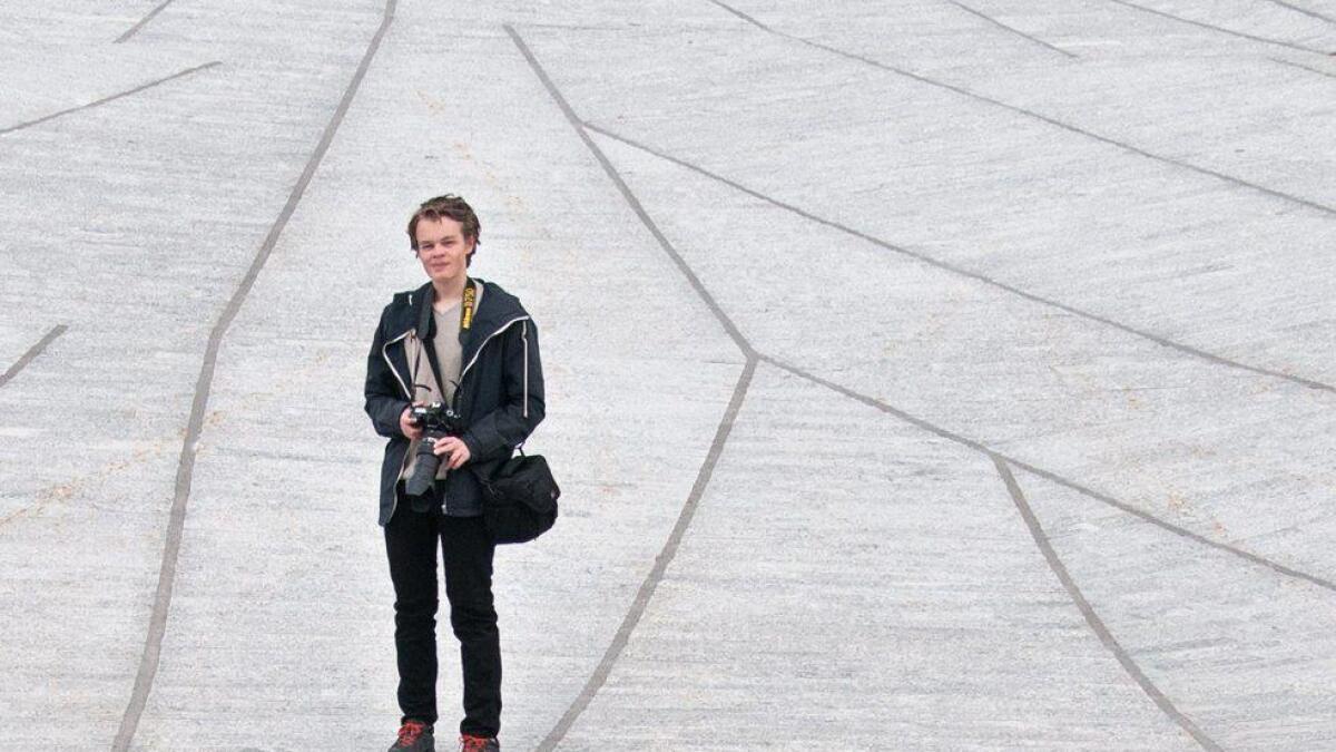 Håkon Lyngås Sataøen jobbar for å bli ein god nattfotograf. Draumen er å fotografere Mjølkevegen.