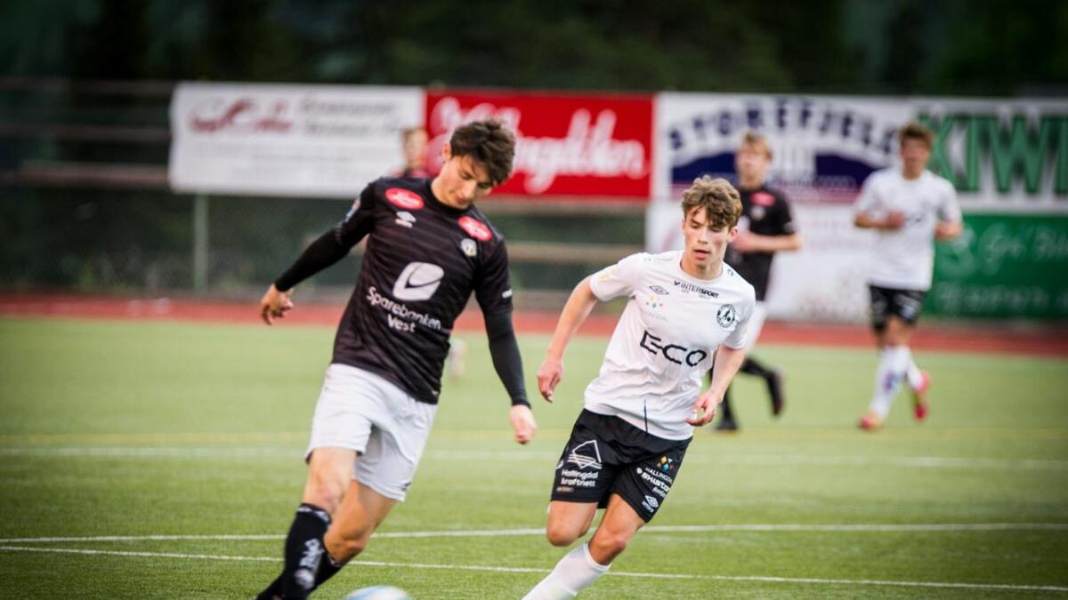 Magnus Magnetun Bækken har vore ei vanskeleg nøtt for mostandarane denne sesongen. Måndag vart det på ny tre mål.
