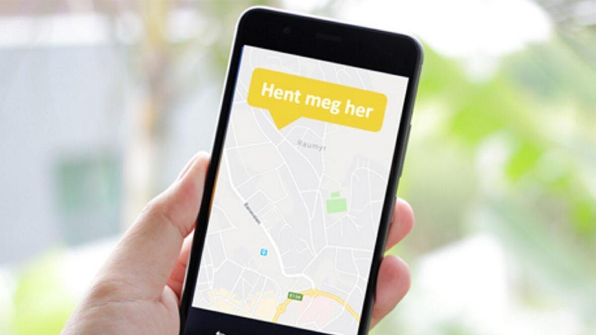 Fylket vil teste ut ein ny app der passasjerar på Gol og Geilo kan bestille dør-til-dør transport med minibuss.