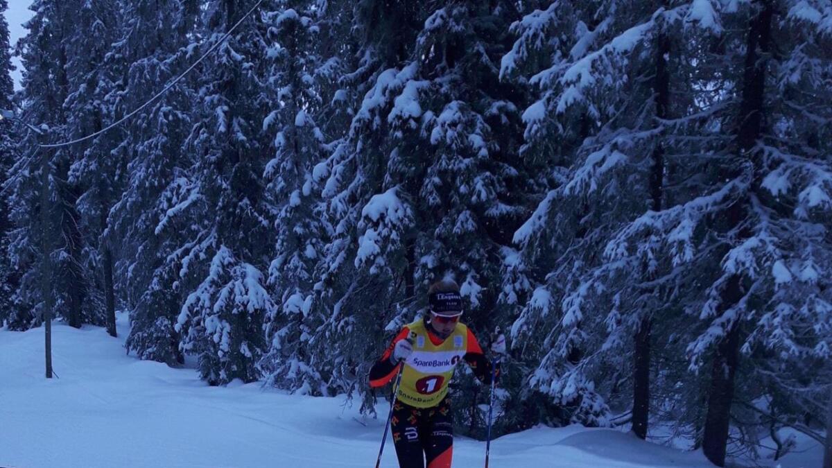 Guri Sollien Hulbak vann klassen sin på Lillehammer i helga.
