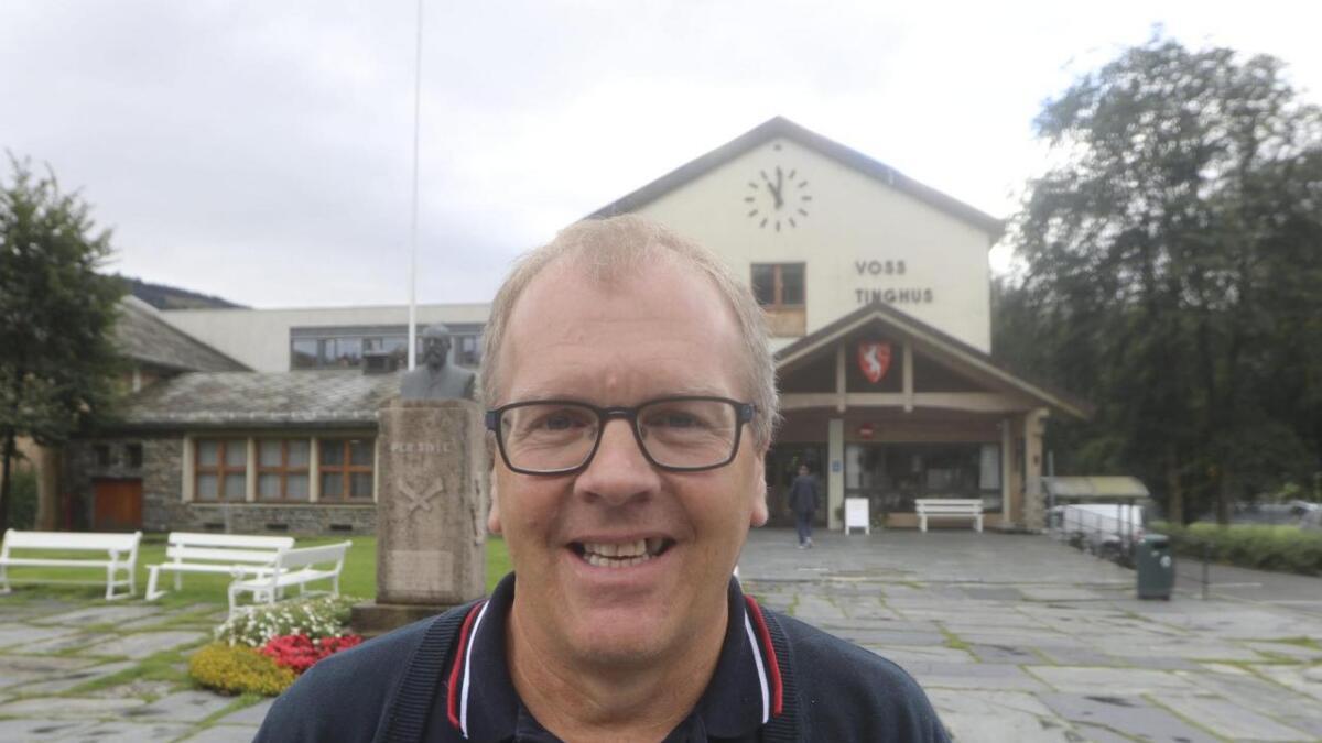 Sigbjørn Hauge, Voss Sp.