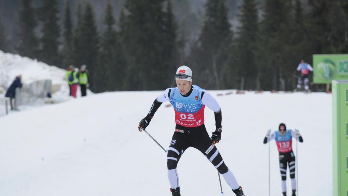 Sondre Ramse ble nummer 21 inkludert de utenlandske løperne på 15 kilometer fri på Gålå. Dette var hans første  norgescuprenn som senior. Bildet er fra sesongstarten på Beitostølen hvor han ble nummer 47 på samme distanse.