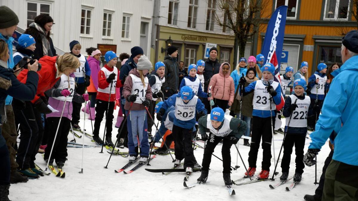 Et nytt prosjekt skal bidra til at Grimstad er attraktiv året gjennom. Bildet er fra skifestivalen.