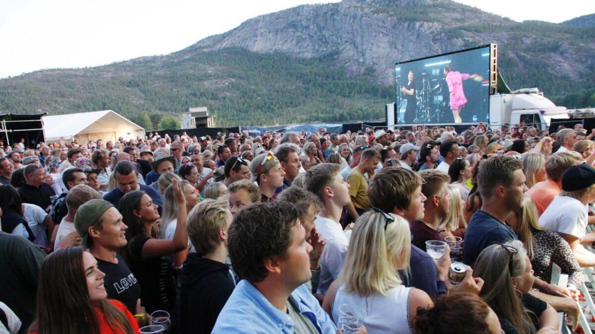 Dagny hadde et godt grep om publikummet i Treungen under festivalen i august. Økonomisk blir 2019 også et meget godt år for festivalen som har hentet inn alt det tapte fra 2018, ifølge festivalsjef Jørgen Solberg.