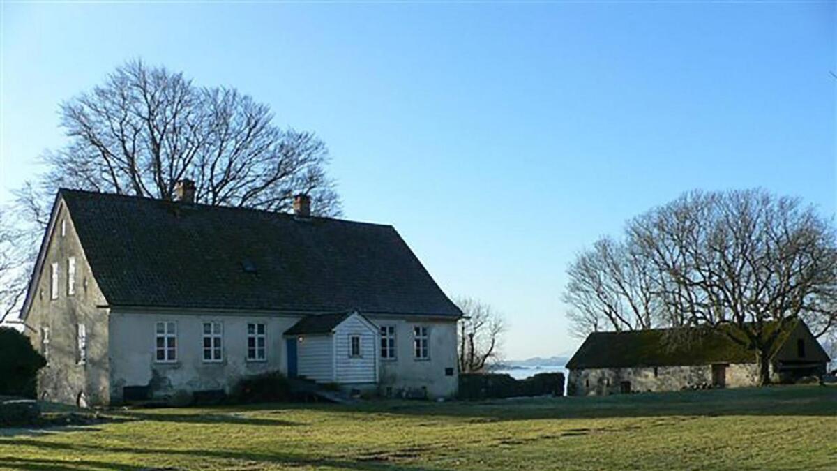 Sunnhordland museum ønskjer ikkje vindmøller i nærleiken av Halsnøy kloster.