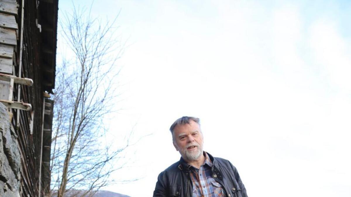 Ragnar Karevoll har i mange år kompostert matavfallet, sjølv om IHM i over ti år har trudd  at han ikkje gjorde det.
