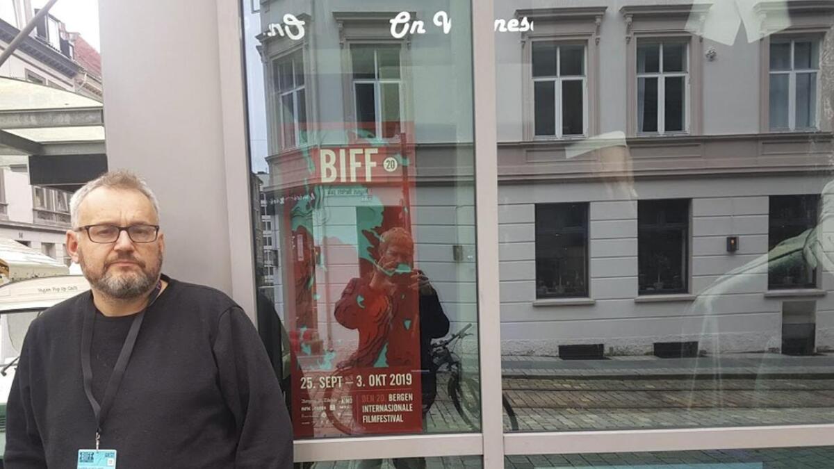 Bjørn Sortland deltok på Bergen internasjonale filmfestival med «Dagny», inspirert av «Gjøkeredet».