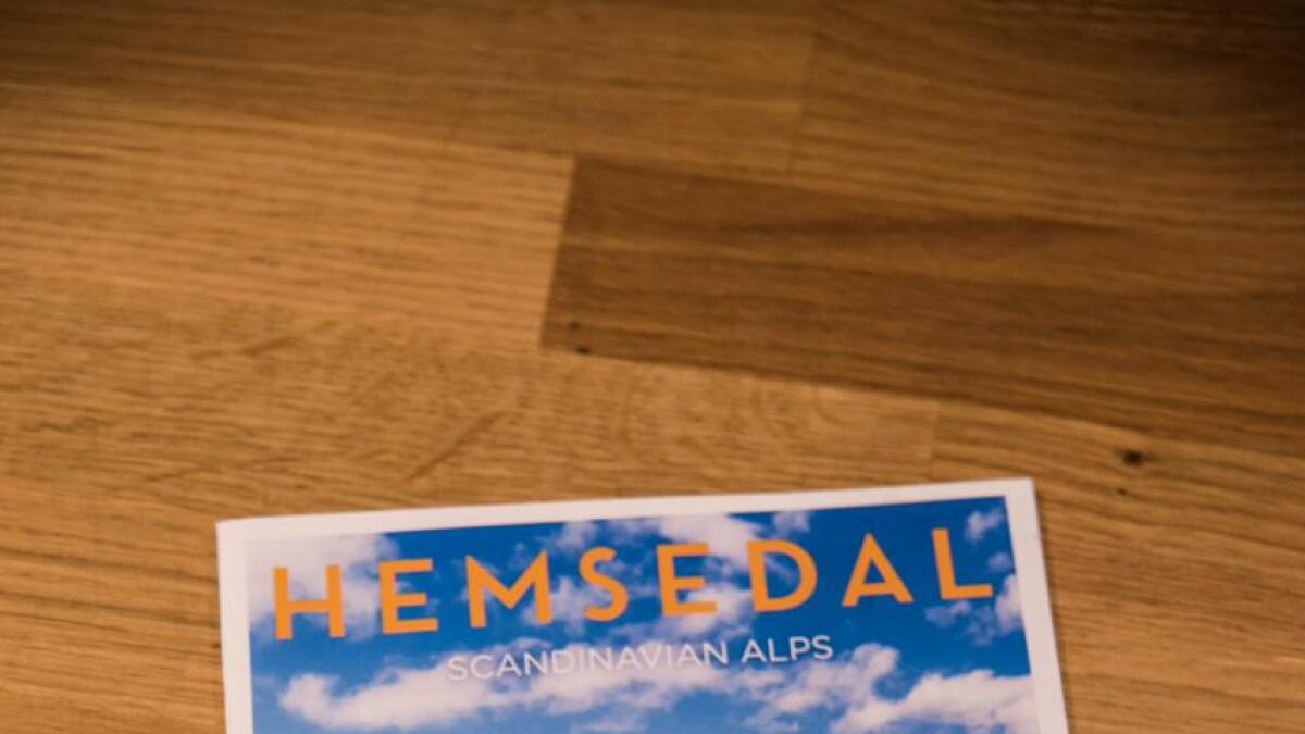 Framsida på brosjyra til Turistkontoret i Hemsedal i 2018.