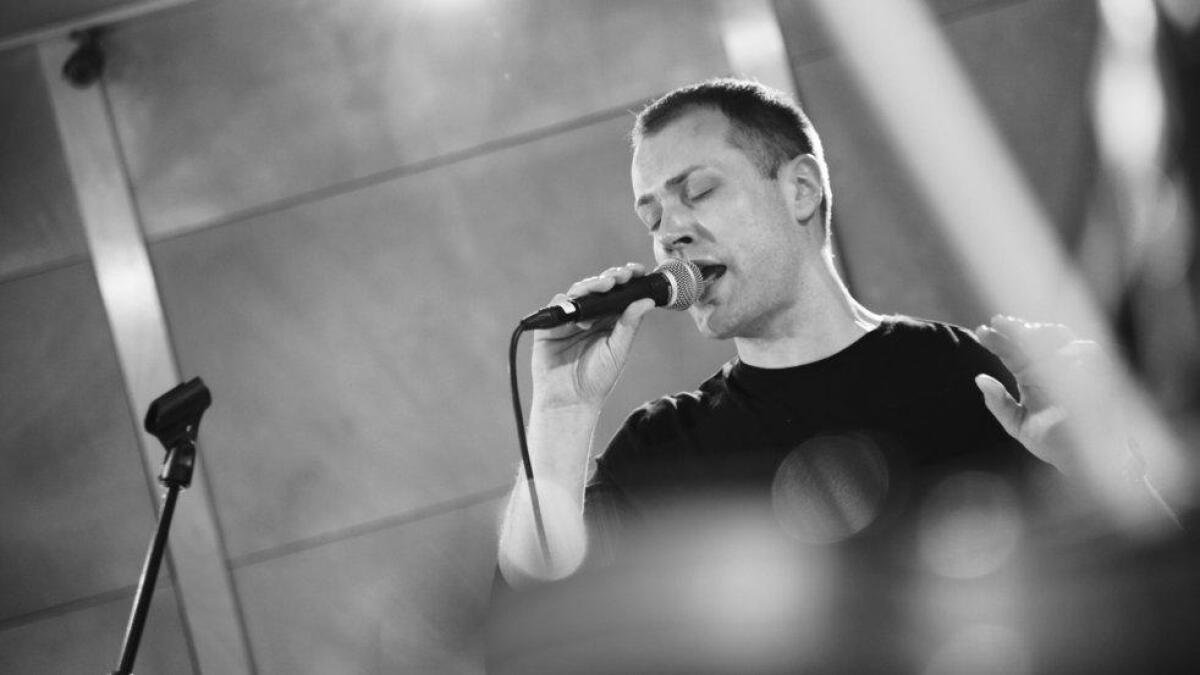Per O Noss held laurdag konsert for heimepublikummet i Ål kulturhus.
