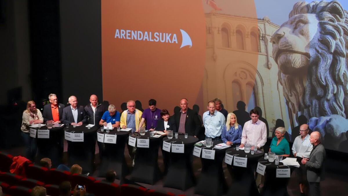 Lørdag formiddag debatteres ett Agder i Arendal.